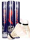 Badminton Volants de plumes Haute elasticite Durable Stabilite pour Interieur Exterieur Utilisation Exercice Sport de detentePlume de