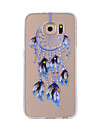 For Samsung Galaxy NOTE 5 NOTE 4  NOTE 3 Case Cover Blue Dreamcatcher Painted Pattern TPU Material Phone Case