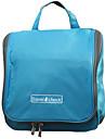 1개 여행 가방 여행용 세면도구 가방 수분 방지 방수 폴더 용 여행용 보관함 패브릭-오렌지 옐로우 블루 핑크
