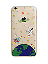 Alien Pattern TPU Soft Case Cover for Apple iPhone 7 7 Plus iPhone 6 6 Plus iPhone 5 SE 5C iPhone 4