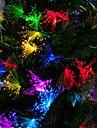 10m синий / белый / цвета радуги 100-водить свет шнура Рождество фея (100-220V)
