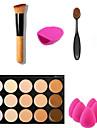 15 Консилер/ContourПуховка для пудры/Бьюти-блендер / Кисти для макияжа влажный ЛицоПокрытие / Консилер / Неровный тон кожи / Натуральный