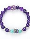 Men\'s Women\'s Strand Bracelet Yoga Bracelet Gem Alloy Jewelry For Wedding Party Birthday Congratulations Business Gift Casual