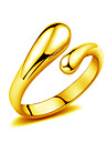 Ring Jewelry Gold Drop Silver Golden Jewelry Wedding Party Daily Casual 1pc