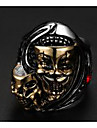 Men\'s Ring Jewelry Punk European Titanium Steel Skull / Skeleton Jewelry For Wedding Party Daily Casual Sports