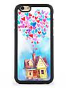 Pour Coque iPhone 7 Coque iPhone 6 Coque iPhone 5 Motif Coque Coque Arriere Coque Ballon Dur Aluminium pour AppleiPhone 7 Plus iPhone 7