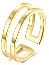 Кольцо Бижутерия Позолота Мода Розовый Золотой Бижутерия Для вечеринок Halloween Повседневные 1шт