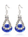 MPL fashion diamond resin Earrings