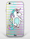 Happy Unicorn  TPU Case For Iphone 7 7Plus 6S/6 6Plus/5S SE