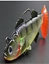 1 штук Жесткая наживка Рыболовная приманка Жесткая наживка Случайный цвет 19 г Унция mm дюймовый,Жесткие пластиковыеМорское рыболовство
