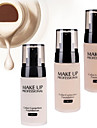 LaiKou Pro Whitening Moisturizer Concealer Contour Waterproof Color Correction Finish Liquid Foundation BB Cream