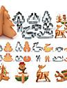Moule de Cuisson Cartoon 3D Animal Pour Gateau Pour pain Pour Cookie Pour Sandwich Acier InoxydableBricolage Haute qualite Papier a cuire