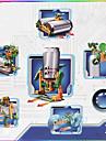 태양열 에너지 장난감 노블티&개그 장난감 그린 화이트 ABS