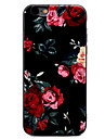 Para iPhone X iPhone 8 iPhone 7 iPhone 7 Plus iPhone 6 Case Tampa Estampada Capa Traseira Capinha Flor Macia PUT para Apple iPhone X