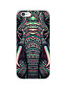 For iPhone 6 Case / iPhone 6 Plus Case Pattern Case Back Cover Case Elephant Soft TPU iPhone 6s Plus/6 Plus / iPhone 6s/6