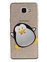 Pour IMD Transparente Motif Coque Coque Arriere Coque Animal Flexible PUT pour Samsung A5(2016) A3(2016) A5 A3
