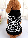 Dog Sweater Black Dog Clothes Winter Spring/Fall Stripe Cute Casual/Daily