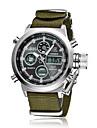 Hombre Mujer Reloj Deportivo Reloj de Vestir Reloj de Moda Cuarzo Calendario Colorido Tejido Banda Cosecha Casual Multiples Colores Marca