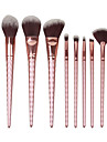 8 Contour Brush Makeup Brush Set Blush Brush Eyeshadow Brush Brow Brush Concealer Brush Fan Brush Powder Brush Foundation BrushSynthetic
