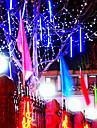 8шт 30см светодиодные фонари трубки метеорный ливень трубки светодиодные огни свадьба сад Xmas свет шнура на открытом воздухе