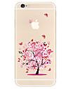용 패턴 케이스 뒷면 커버 케이스 나무 소프트 TPU 용 Apple 아이폰 7 플러스 아이폰 (7) iPhone 6s Plus/6 Plus iPhone 6s/6 iPhone SE/5s/5