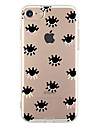 Para Ultra-Fina Estampada Capinha Capa Traseira Capinha Azulejos Macia TPU para AppleiPhone 7 Plus iPhone 7 iPhone 6s Plus/6 Plus iPhone