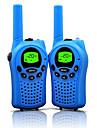 walkie talkies para criancas com 22 canais e duravel (ate 5 km em areas abertas) talkies coloridos talkies para criancas (1 par) t668