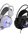 Casque stereo casque stereo de qualite superieure de 3,5 mm avec vibrations lumineuses led dj