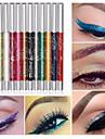 12 цветов профессиональный макияж глаз тени для губ брови тени для век блеск карандаш Карандаш для глаз пера косметический набор для