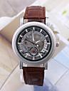 Men\'s Women\'s Unisex Sport Watch Military Watch Fashion Watch Wrist watch Mechanical Watch Calendar Automatic self-winding Genuine Leather