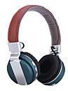 casque ecouteurs stereo de pliage pliables sans fil microphone avec annulation du bruit& batterie rechargeable li-ion