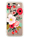 For Apple iPhone 7 7Plus 6S 6Plus Case Cover Flowers Pattern HD TPU Phone Shell Material Phone Case
