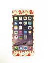 для Apple Iphone 7 плюс 5,5 дюйма закаленного стекла с мягким краем полного охват экрана протектора переднего экрана цветы шаблоном