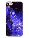 Pour IMD Coque Coque Arriere Coque Paysage Flexible PUT pour Apple iPhone 7 Plus iPhone 7 iPhone 6s Plus/6 Plus iPhone 6s/6 iPhone SE/5s/5