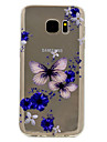 For Samsung Galaxy S8 Plus S7 Butterfly Pattern Soft TPU Material Phone Case for S6 S8