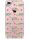 Для Прозрачный С узором Кейс для Задняя крышка Кейс для Цветы Мягкий TPU для AppleiPhone 7 Plus iPhone 7 iPhone 6s Plus/6 Plus iPhone