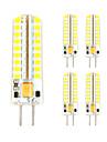 3W GY6.35 Двухштырьковые LED лампы T 72 SMD 2835 320-350 lm Тёплый белый Холодный белый Декоративная V 5 шт.