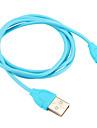 USB 2.0 tipo C Portatil Cabo Para Samsung Huawei Sony Nokia HTC Motorola LG Lenovo Xiaomi 100 cm PVC