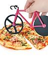 1 pieces Cutter & Slicer For Pour Pizza Plastique Acier Inoxydable Haute qualite Creative Kitchen Gadget