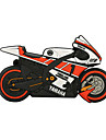 128GB motorcycle rubber USB2.0 flash drive disk