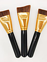 1pcs Contour Brush Foundation Brush Synthetic Hair Professional Eco-friendly Portable Wood Face Others