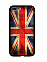 For Pattern Case Back Cover Case Flag Hard Acrylic for iPhone 7 Plus 7 6s Plus 6 Plus 6s 6 5s 5 SE