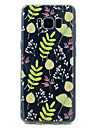 For Samsung Galaxy S8 S8 Plus Flower Pattern Soft TPU Material Phone Case