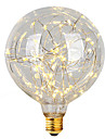 2W E26/E27 LED Filament Bulbs G95 47 Integrate LED 300 lm Warm White Decorative AC 220-240 V 1 pcs