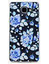 For Samsung Galaxy A3(2017) A5(2017) Case Cover Transparent Pattern Back Cover Case Flower Soft TPU for A7(2017) A5(2016) A3(2016)