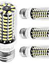 YouOKLight 4PCS E26/E27 4W AC110-130V 80*5733 SMD LED Cold White High Luminous Corn Bulb Spotlight LED Lamp Candle Light for Home Lighting