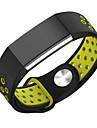 para faixa de relogio charge2 Fitbit pulseira de silicone pulseira substituicao buraco respiravel esporte dupla cor