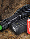 LED Flashlights/Torch Handheld Flashlights/Torch LED 2200 Lumens 5 Mode Cree XM-L T6 Adjustable Focus for Camping/Hiking/Caving Everyday