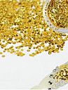 1 Bottle Fashion Charming Gold Nail Art Glitter Water Droplet Paillette Decoration Beautiful Shiny Thin Slice Nail DIY Decoration Beauty Design D07