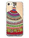 Pour Ultrafine Motif Coque Coque Arriere Coque Femme Sexy Flexible PUT pour AppleiPhone 7 Plus iPhone 7 iPhone 6s Plus iPhone 6 Plus